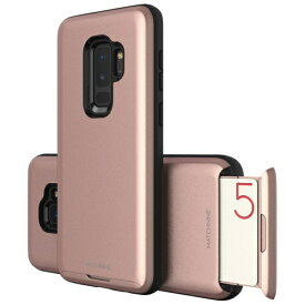 ROA ロア Galaxy S9+ CARDLA SLOT ローズピンク