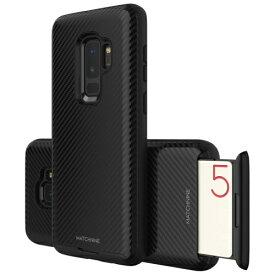 ROA ロア Galaxy S9+ CARDLA SLOT カーボンブラック