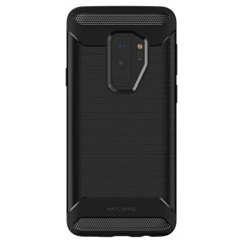 ROA ロア Galaxy S9+ JELLO RUGGED ブラック
