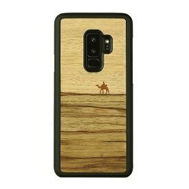 ROA ロア Galaxy S9+ 天然木ケース Terra