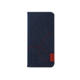 ROA ロア Galaxy S9 Denim Stitch Diary Z12552S9 手帳型ケース Z12552S9 Denim Stitch Diary