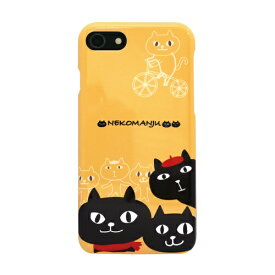 ROA ロア iPhone8/7 ネコマンジュウケース スケッチ イエロー