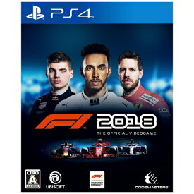 ユービーアイソフト Ubisoft F1 2018【PS4】 【代金引換配送不可】