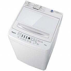 ハイセンス Hisense 全自動洗濯機 ホワイト HW-G60A [洗濯6.0kg /乾燥機能無 /上開き][一人暮らし 新生活 新品 小型 設置 洗濯機 6kg]