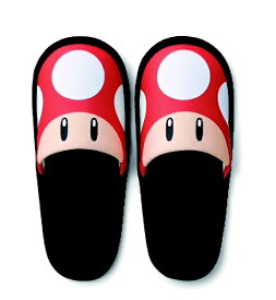 任天堂販売 Nintendo Sales 携帯スリッパ スーパーマリオ(スーパーキノコ) NSL-0020