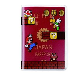 任天堂販売 Nintendo Sales パスポートカバー スーパーマリオ(ステージ) NSL-0034