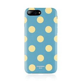 JTLEGEND JTレジェンド JTLEGEND iPhone8/7Plus Polka PU レザー バック ケース JT-PO-IP8P-BL Banana Lagoon