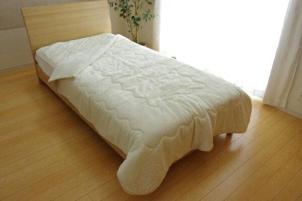 イケヒコ IKEHIKO 17 フランIT2枚合わせ毛布(サイズ/140×200cm/アイボリー)