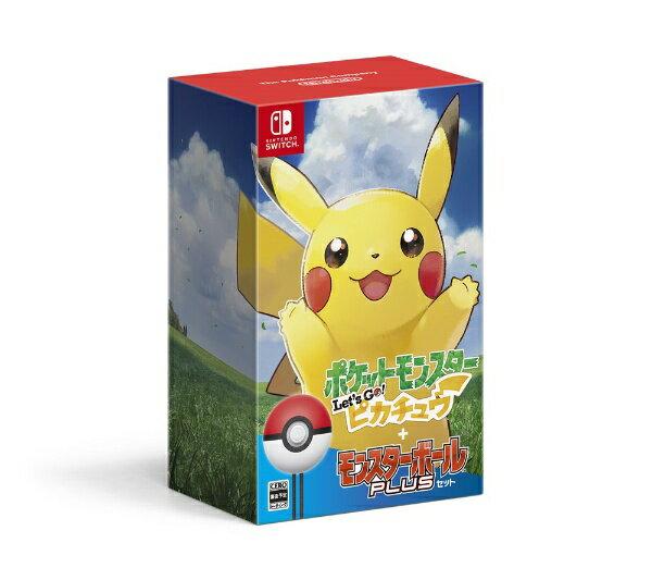 【送料無料】 任天堂 ポケットモンスター Let's Go! ピカチュウ モンスターボール Plusセット【Switch】