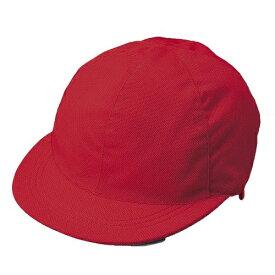 クツワ KUTSUWA メッシュ赤白帽子 KR002