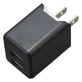 ティ・レイズ TR Company AC充電器+Lightningケーブル 1m PREMIUM ガンメタ BU2ULAN3410GM [USB給電対応 /2ポート]