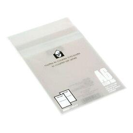 エトランジェ etranger EDC クリアバッグ 透明OPP袋 粘着テープ付 (A6・20枚入) OPP-A6-01