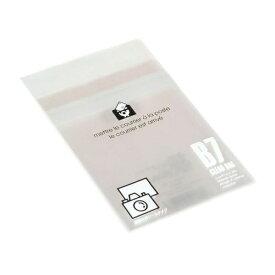 エトランジェ etranger EDC クリアバッグ 透明OPP袋 粘着テープ付 (B7/L判・20枚入) OPP-B7-01
