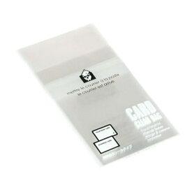 エトランジェ etranger EDC クリアバッグ 透明OPP袋 粘着テープ付 (名刺サイズ・20枚入) OPP-BC-01