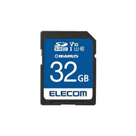 エレコム ELECOM SDHCカード MF-FSU11IKAシリーズ MF-FS032GU11IKA [32GB /Class10][MFFS032GU11IKA]