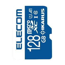 エレコム ELECOM microSDXCカード MF-MSU11IKA_XCシリーズ MF-MS128GU11IKA [128GB /Class10][MFMS128GU11IKA]