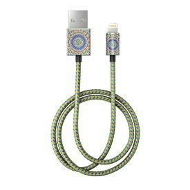 IDEAL OF SWEDEN MFIライトニングケーブル 充電通信 モロッカン ゼリージュ IDFCL-54 [1.0m]