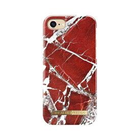 IDEAL OF SWEDEN iPhone 8/7/6S/6用ケース スカーレットレッドマーブル IDFCS18-I7-71