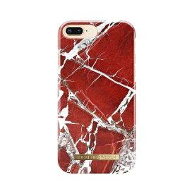 IDEAL OF SWEDEN iPhone 8 Plus/7P/6SP/6P用ケース スカーレットレッドマーブル IDFCS18-I7P-71