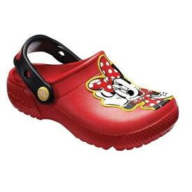 クロックス Crocs 18.0cm 子供用 サンダル Kids Crocs Fun Lab Minnie Clog(C11:Flame) 204995