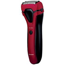 パナソニック Panasonic ES-RL15-R メンズシェーバー 赤 [3枚刃 /国内専用][電気シェーバー 男性 髭剃り ESRL15R]