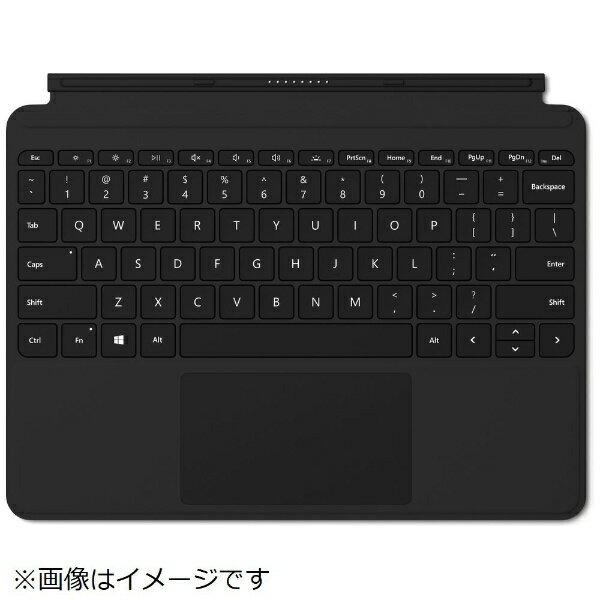 マイクロソフト Microsoft 【純正】 Surface Go用 Surface Go タイプ カバー KCM-00019 ブラック[KCM00019]
