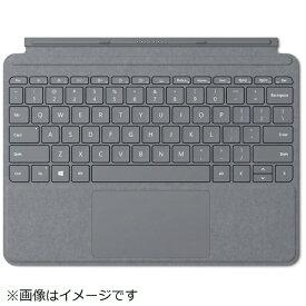 マイクロソフト Microsoft 【純正】 Surface Go用 Surface Go Signature タイプ カバー KCS-00019 プラチナ[KCS00019]