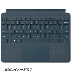 マイクロソフト Microsoft 【純正】 Surface Go用 Surface Go Signature タイプ カバー KCS-00039 コバルトブルー[サーフェスgo カバー KCS00039]