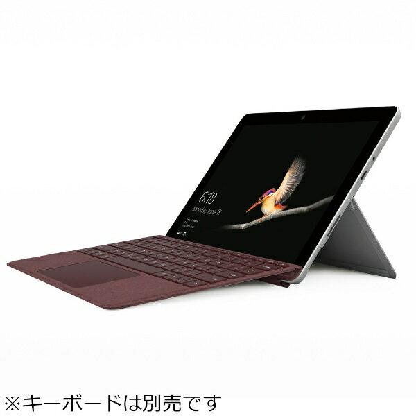 【2018年08月28日発売】 【送料無料】 マイクロソフト Microsoft キーボード別売「Surface Go(Pentium Gold/SSD 128GB/8GB/ペン非同梱モデル)」 Windowsタブレット[Office付き・10型] MCZ-00014 シルバー