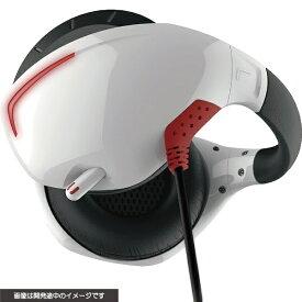 サイバーガジェット CYBER Gadget PSVR用 マイク付きバックバンドヘッドホン ホワイト×レッド CY-VRMBHP-WR【PSVR】