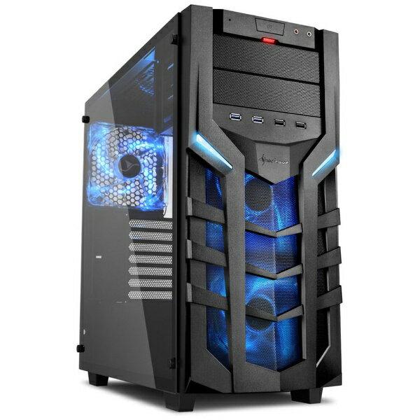 SHARKOON PCケース Sharkoon DG7000-G SHA-DG7000-GB ブルー[SHADG7000GB]