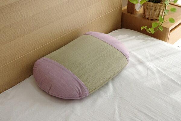 イケヒコ IKEHIKO アロマグラス(ラベンダー)い草枕 (幅50×奥行35cm)【日本製】