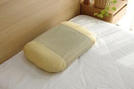 イケヒコ IKEHIKO アロマグラス(カモミール)い草枕(35×50cm)【日本製】
