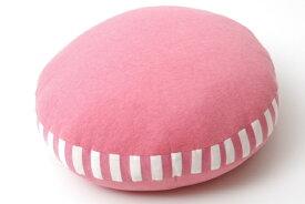 イケヒコ IKEHIKO もっちりクッション エルマー50丸フロア(50R×5cm/ピンク)