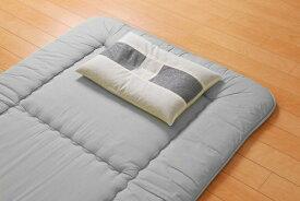 イケヒコ IKEHIKO 竹炭 パイプ枕(35×50cm)【日本製】