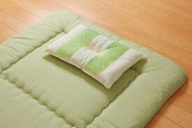 イケヒコ IKEHIKO 森の眠りひばパイプ枕 低め(43×63×10cm)【日本製】