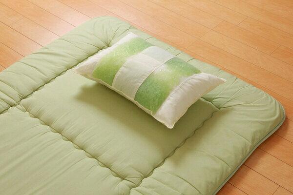 イケヒコ IKEHIKO 森の眠りひばパイプ枕 高め (幅50×奥行35×高さ14cm)【日本製】