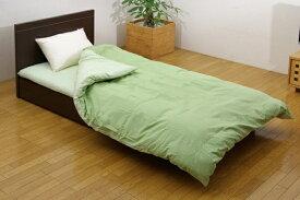 イケヒコ IKEHIKO 【掛ふとんカバー】森の眠り セミダブルサイズ(170×210cm/グリーン)