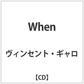 DIS ヴィンセント・ギャロ/When 【CD】