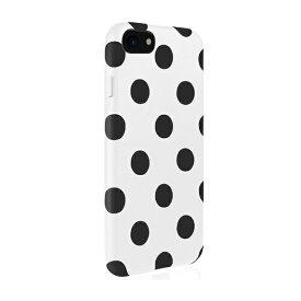 JTLEGEND JTレジェンド iPhone8/7 (4.7) Polka PUレザー背面ケース/ホワイトポルカ JT-PO-IP8-WP White Polka