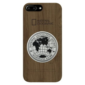 ROA ロア iPhone8/7Plus メタルデコ ウッド ケース NG13050I8P