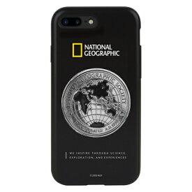 ROA ロア iPhone8/7Plus グローバルシール メタルデコケース ケース NG13052I8P