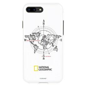 ROA ロア iPhone8/7Plusコンパスケース ダブルプロテクティブ NG13055I8P