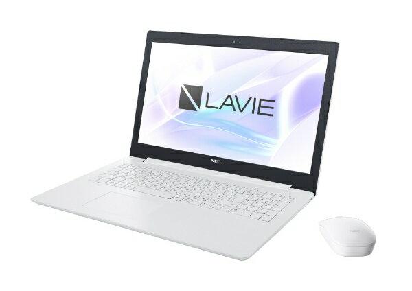 NEC エヌイーシー LAVIE Note Standard 15.6型ノートPC[Office付き・Win10 Home・Celeron・HDD 1TB・メモリ 4GB]2018年7月モデル PC-NS150KAW カームホワイト [15.6型 /intel Celeron /HDD:1TB /メモリ:4GB /2018年07月17日][PCNS150KAW]