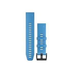 GARMIN ガーミン QuickFitバンド 22mm Cyan blue 010-12740-63