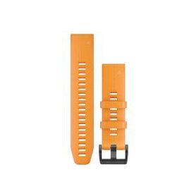 GARMIN ガーミン QuickFitバンド Line 22mm Spark orange 010-12740-64