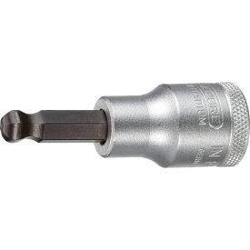 ゲドレー GEDORE GEDORE ボールポイントヘキサゴンビットソケット 1/2 6mm