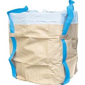 旭産業 アサヒサンギョウ アサヒ コンテナバッグ丸型二重バッグ青ベルト アスベス廃棄用1000kgタイプ