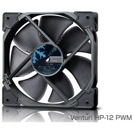 FRACTAL DESIGN フラクタルデザイン ケースファン[120mm / 1800RPM] Fractal Design Venturi HP-12 PWM Black FD-FAN-VENT-HP12-PWM-BK ブラック[FDFANVENTHP12PWMBK]