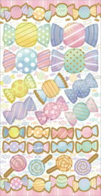 ワールドクラフト world craft マスキングステッカー Candy W01-SMK-0007